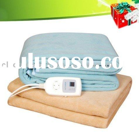Save-engergy automatic shut off electric heat blankets
