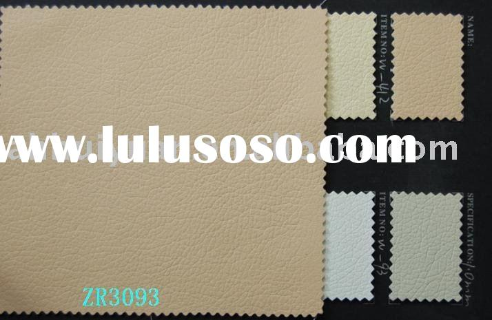 Sofa leather,artificial leather for sofa.PU sofa leather
