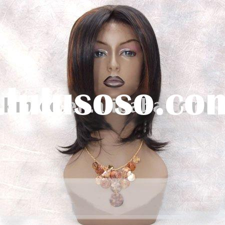 Synthetic remy lace front hair Wigs cheap for black women