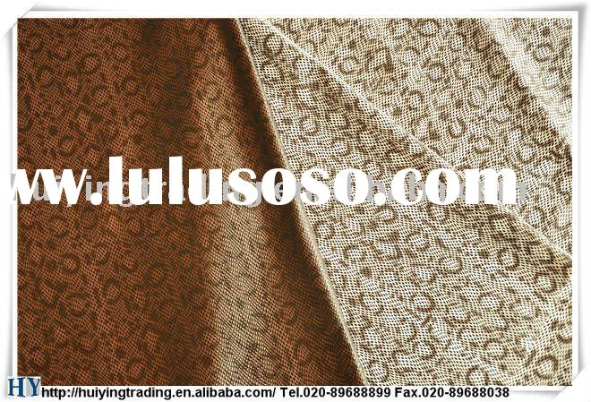 Textile raw material for glove used leather