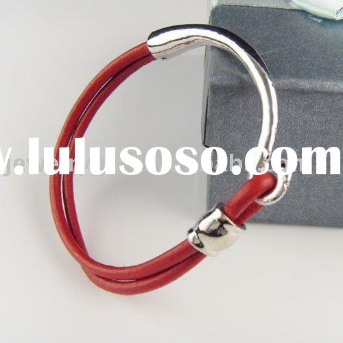 bracelet, leather bracelets  BR-391A