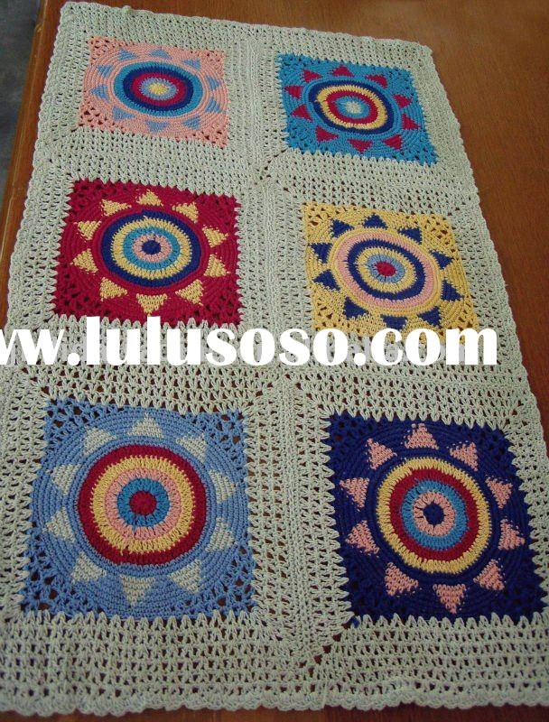crochet blanket, colorful blanket, baby blanket