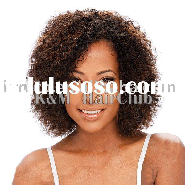 curly synthetic lace front wigs for black women