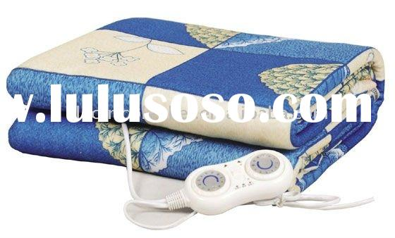 dual controll Heating Zone electric heated blanket