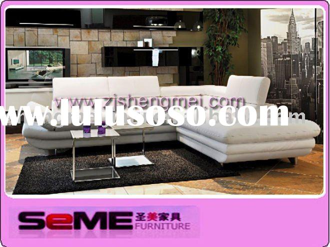 europe modern living room artificial leather corner sofa 626