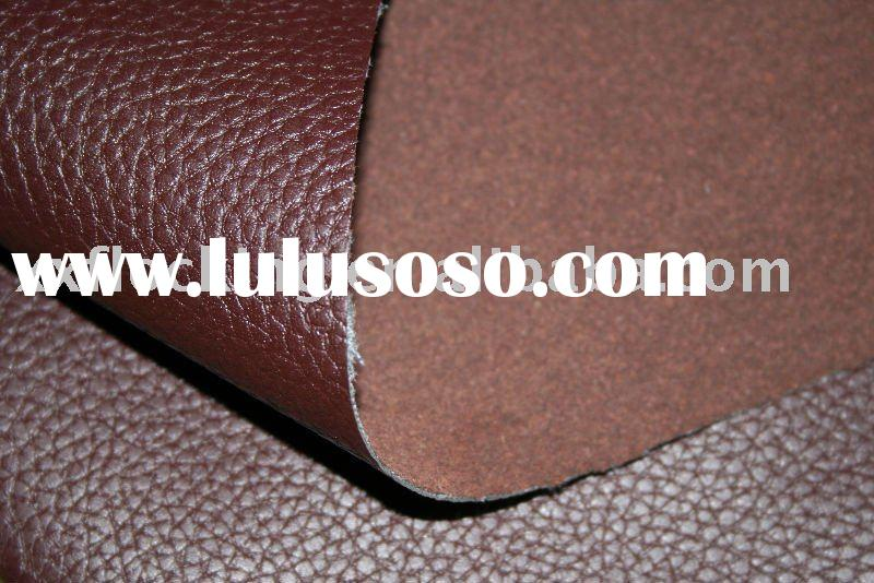 flock, PU leather, PVC leather, fabric flocking