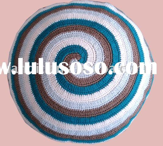 hand crochet pillow,hand crochet baby blanket,cotton cushion,cushion,home textile