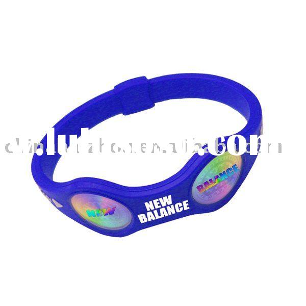 silicone magnetic bracelet fashion