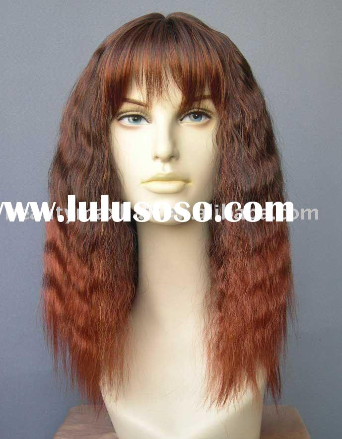 synthetic hair lace wig/lace wig/lace front wig