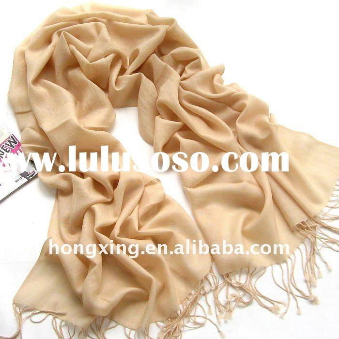 100%Wool scarf&Cashmere scarf and shawl