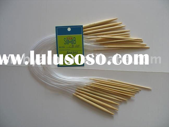Bamboo Knitting Needles CB40, Circular Needles