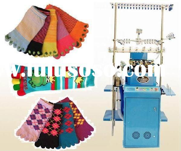 Five toe socks machine/socks machinery/socks knitting machinery