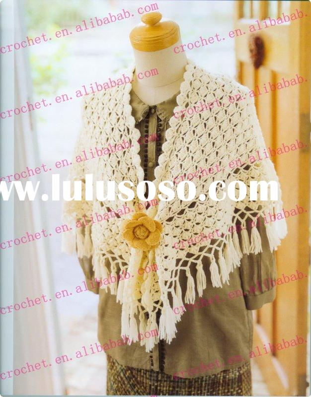 Crochet Triangle Shawl Crochet Pattern | Red Heart