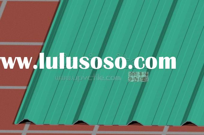 Heating Insulation UPVC Roof Tile   instead of Zinc coated roof tiling gr1004 (27)