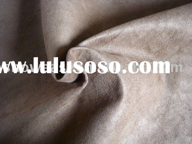 PU synthetic suede leather