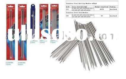 Stainless steel circular  knitting needles