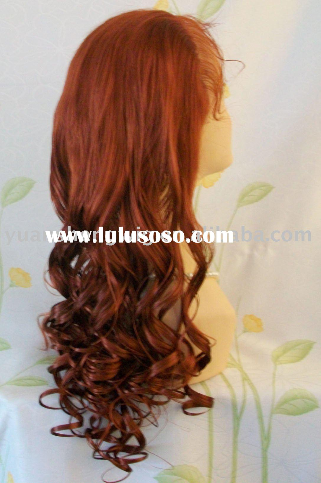 accept paypal/synthetic red wig