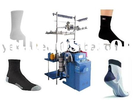 circular jacquard socks knitting machine