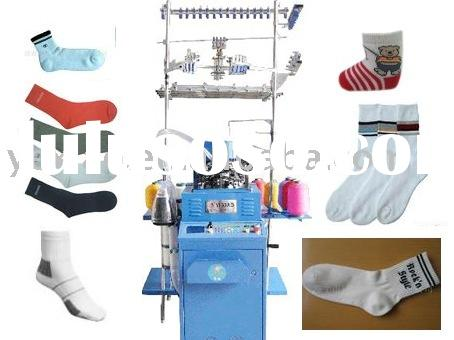 computerized circular  socks knitting machine