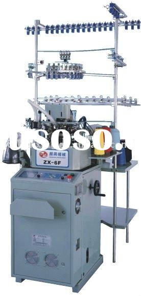 computerized jacquard circular plain socks knitting machine