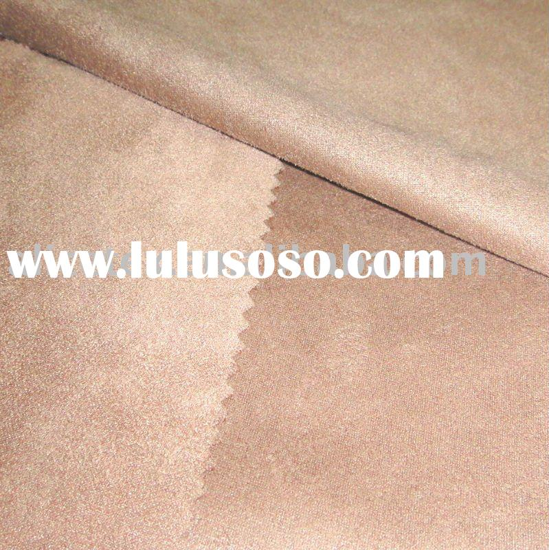 double-side synthetic suede suitable for garment