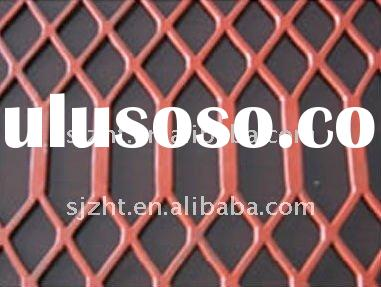 plastic coated expanded metal mesh