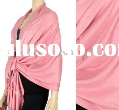silk and cashmere pashmina shawl