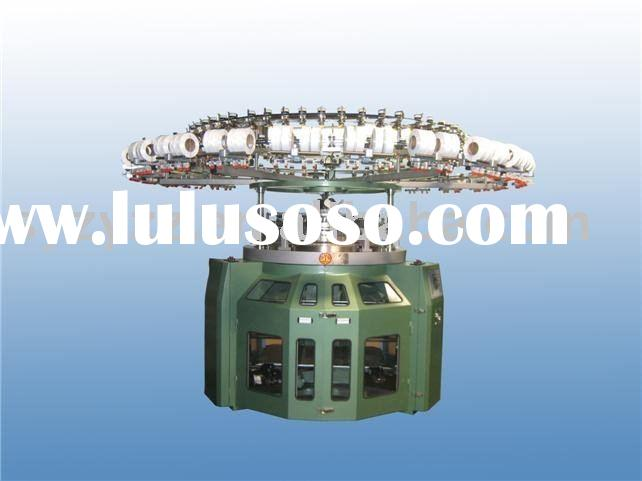 single jersey circular knitting machine for hosiery