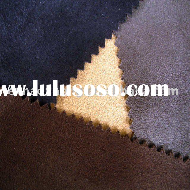 synthetic suede fabric
