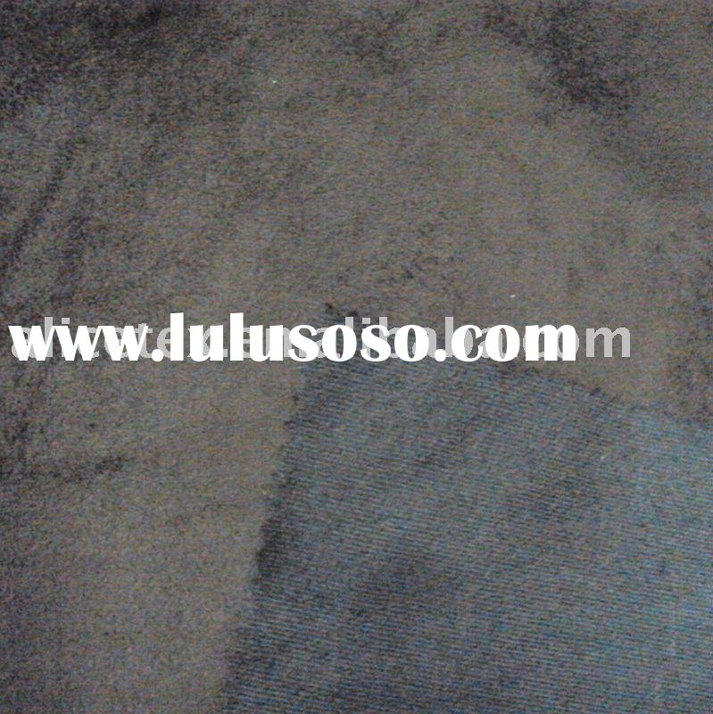 synthetic suede warp knitted suede fabric