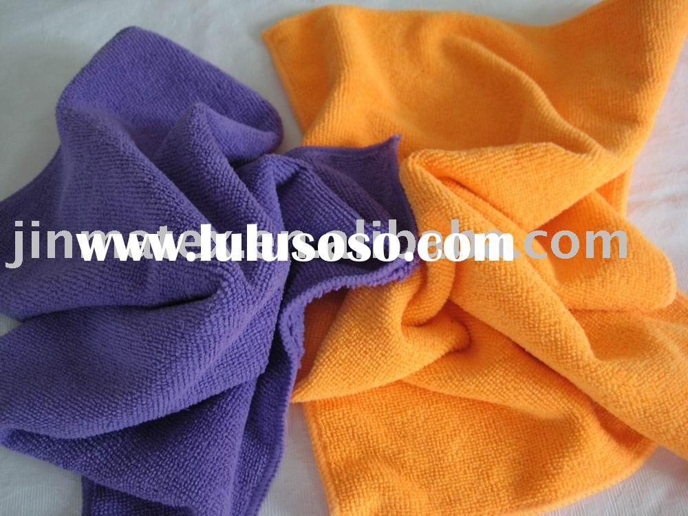 warp knitting cleaning cloth/microfiber cleaning cloth