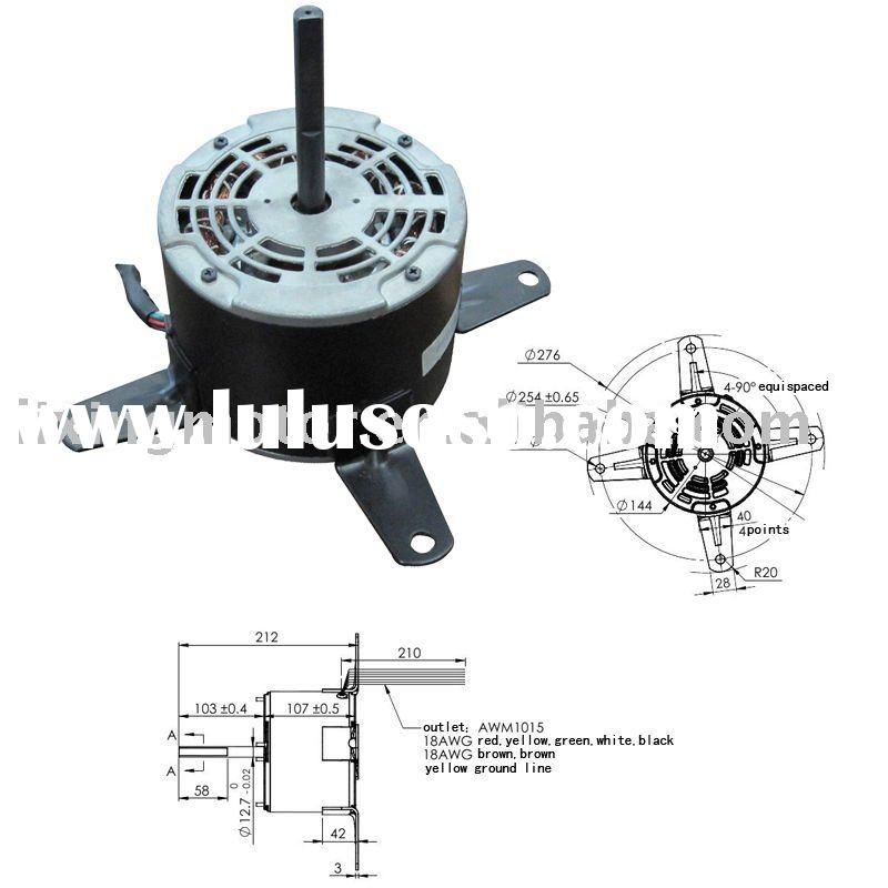 Blower Motor(AC220-240V), Axial Fan Motor, Ventilator Motor