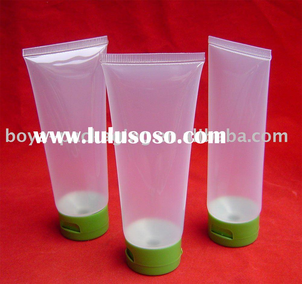 Clear Round Soft Plastic Tubes Packaging