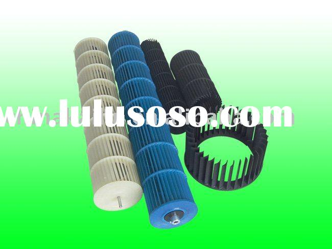 Cross Flow Fan Blade, Plastic Cross Fan Blade  For Home Appliance Parts Fan parts