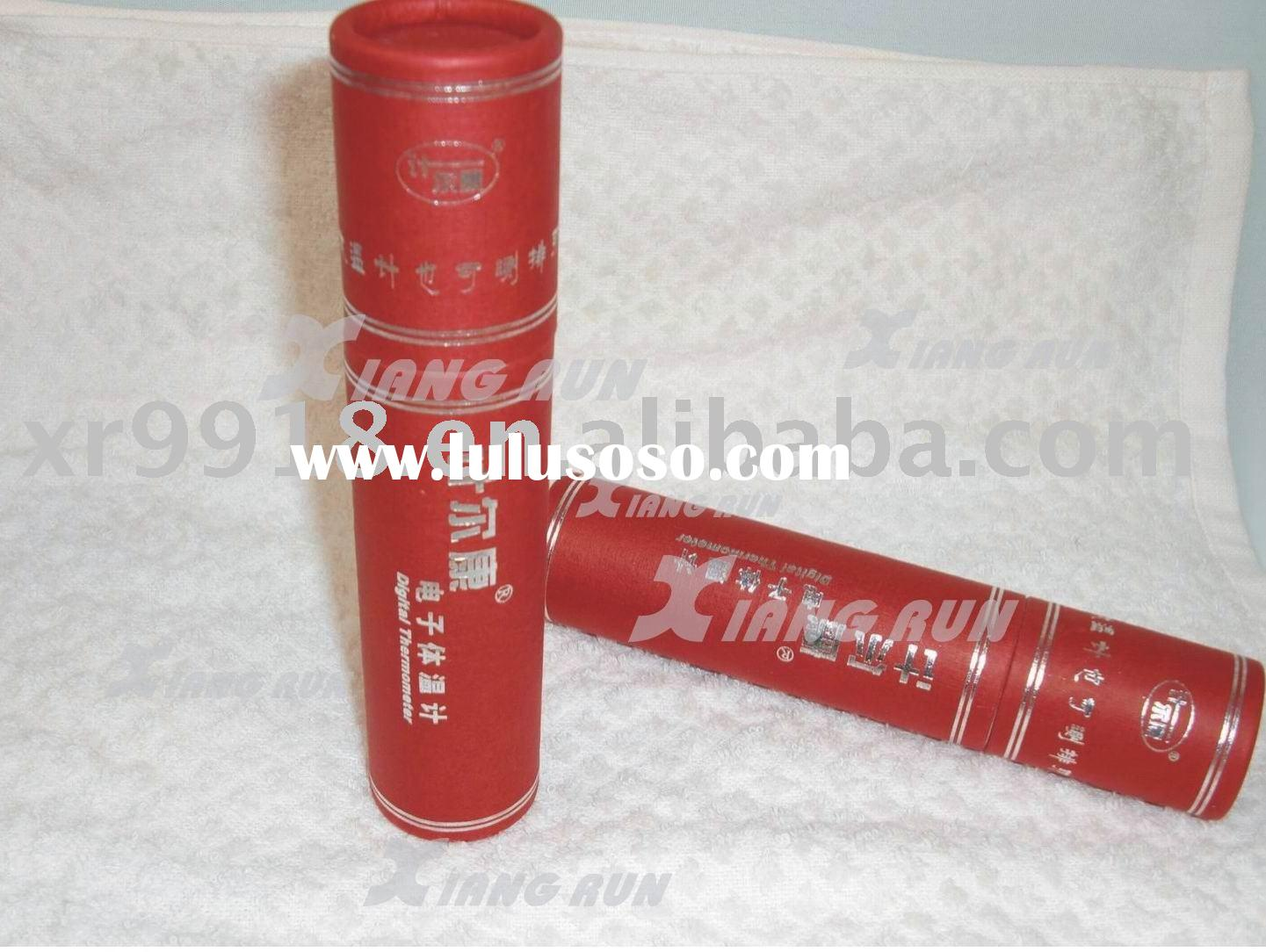 Electronic packaging tube , Gift paper round box , Special paper can ,