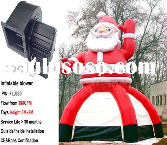 Inflatable Santa  Inflatable fan, inflatable blower
