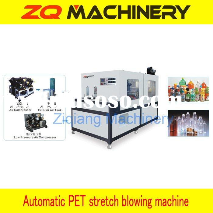 Plastic bottle stretch blow molding machine (Max. for 5L)