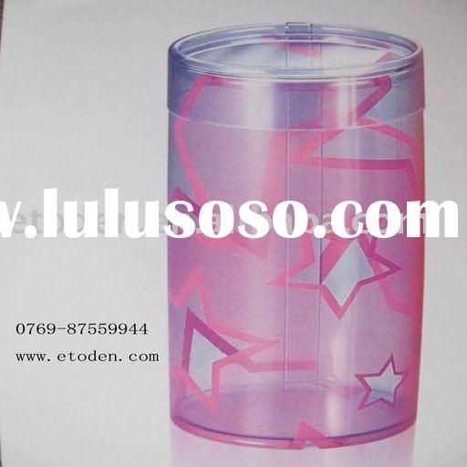 Plastic candy tube