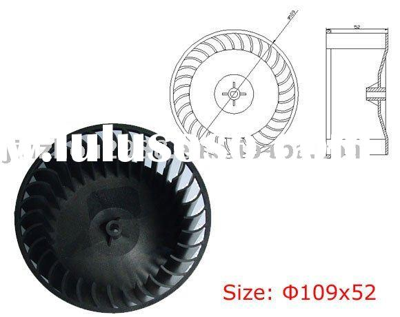 Plastic centrifugal blower wheel (109x52-6),centrefugal fan blade