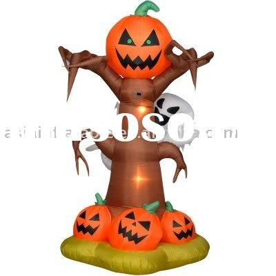 inflatable Halloween decoration  / Halloween air blown inflatables / inflatable Hallowmas pumpkin