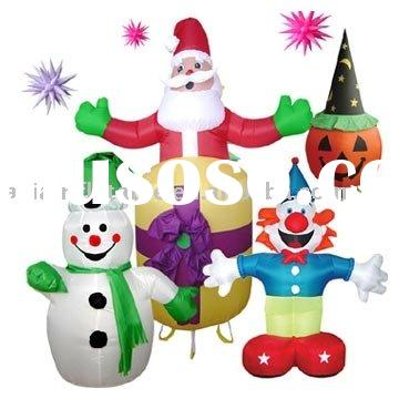 inflatable xmas decoration / inflatable xmas cartoon / holiday airblown inflatables
