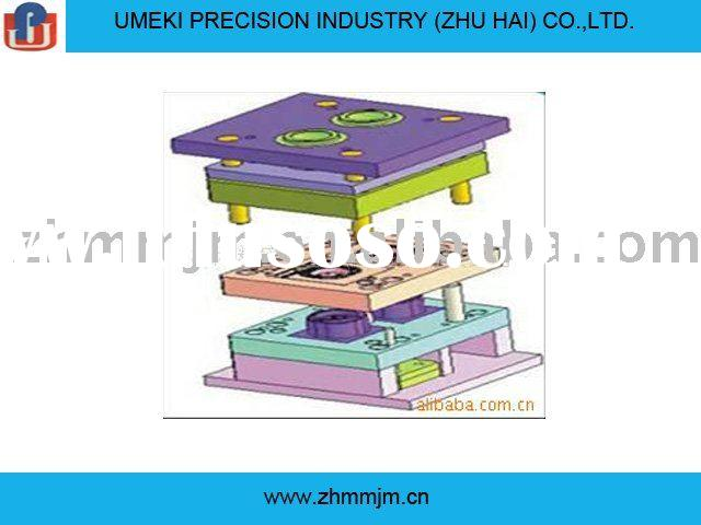 plastic mould design development and precision machining