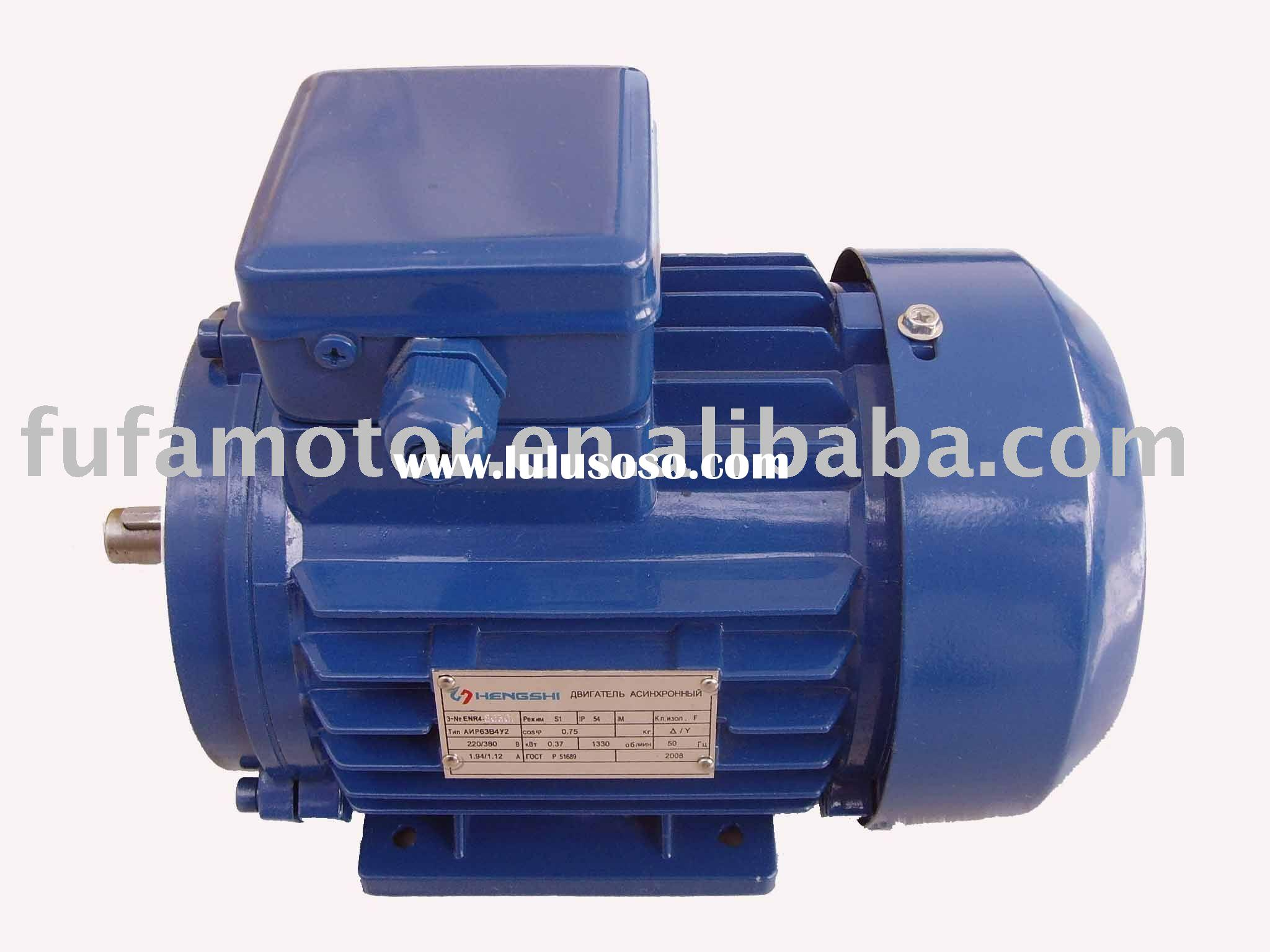three phase squirrel cage electric motor