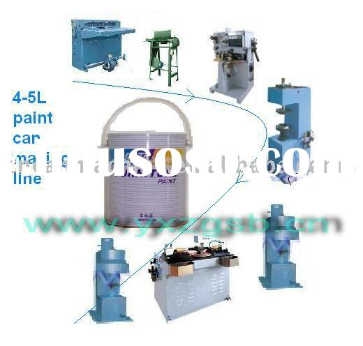 0.2L-5L  paint can making machinery