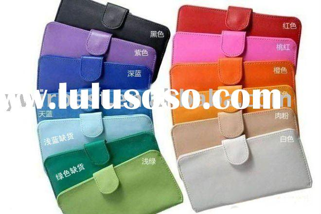 2011 Hot sell newest leather ladies wallets and purses WBW-006