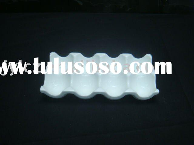 8 ceramic frames egg tray