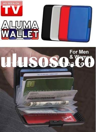 Aluminum wallet Card case on tv show