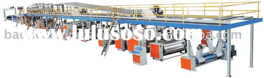 Automatic Corrugated Board making Machinery / paper box making lines machinery