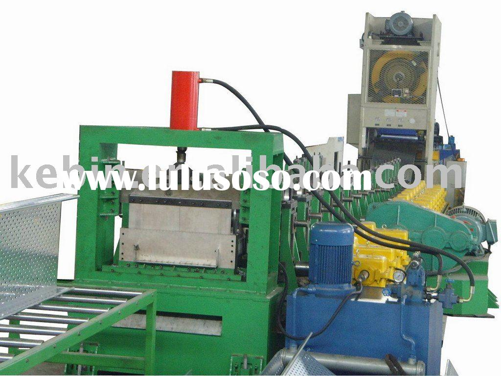 Cable tray roll forming machine --[CE Certificate]