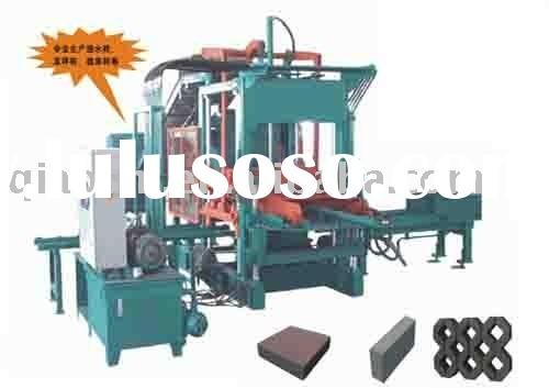 Cement brick making machinery,concrete block forming equipment, cement block making plant